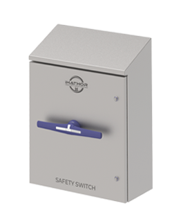 Hygienic Enclosed Safety Isolators 1000A - 1250A - 1600A - 1800A · iHATHOR